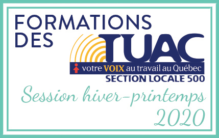Calendrier des formations
